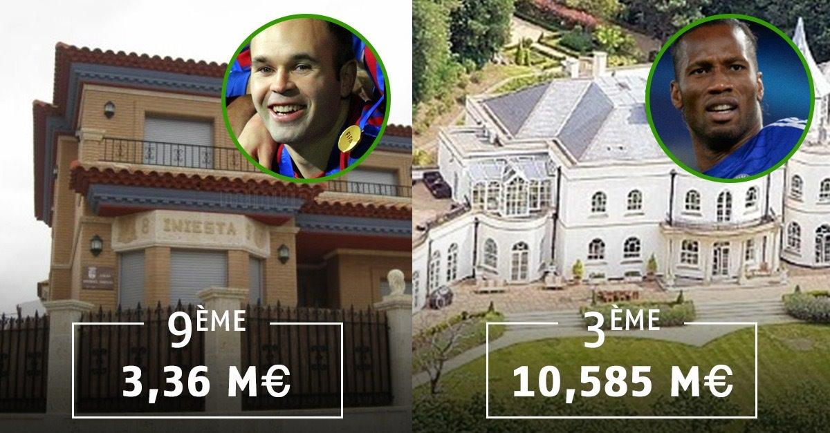 les 10 maisons les plus ch res des footballeurs positiveur. Black Bedroom Furniture Sets. Home Design Ideas